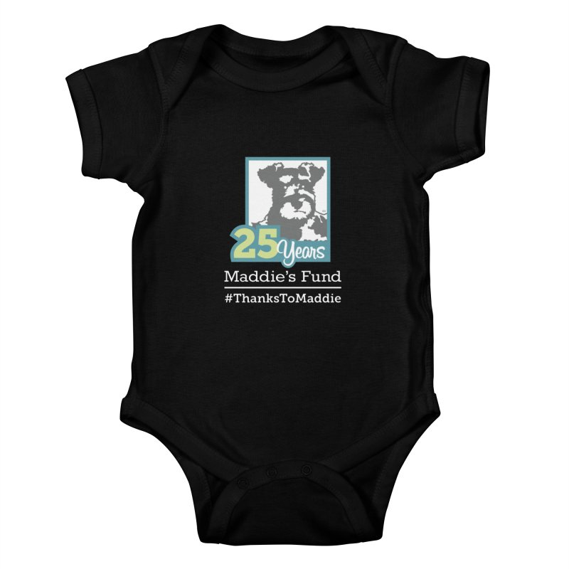 25th Anniversary Logo Dark Colors Kids Baby Bodysuit by Maddie Shop