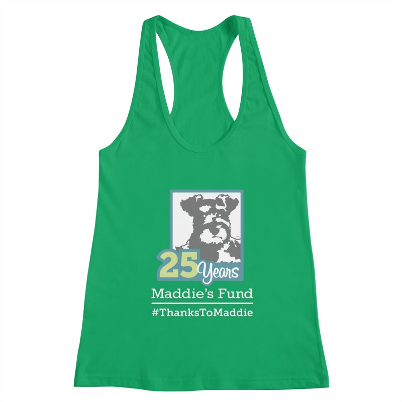 25th Anniversary Logo Dark Colors Women's Tank by Maddie Shop