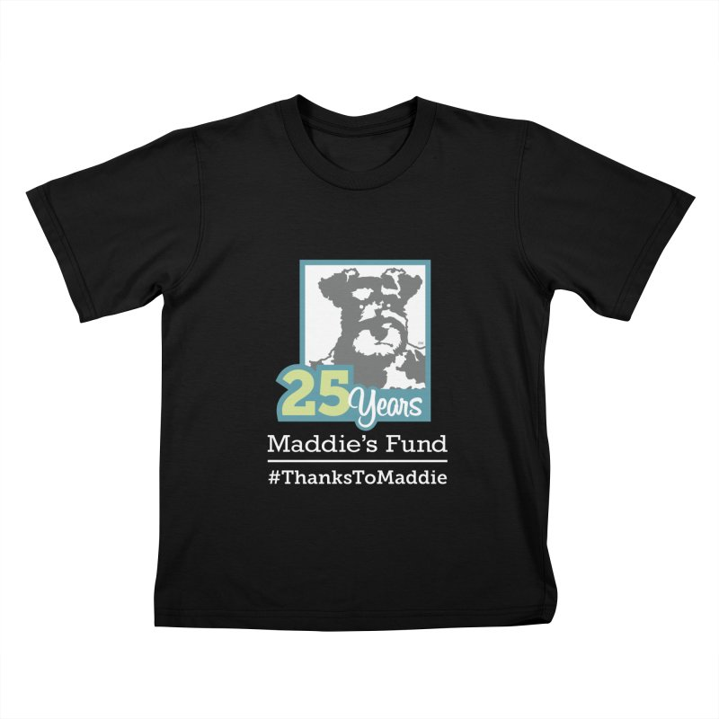 25th Anniversary Logo Dark Colors Kids T-Shirt by Maddie Shop