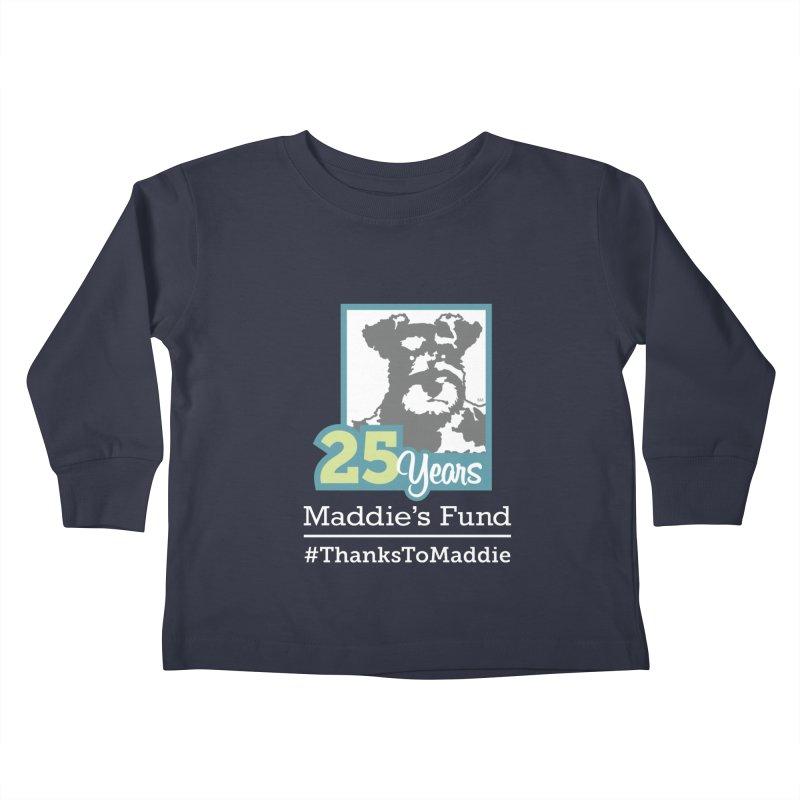 25th Anniversary Logo Dark Colors Kids Toddler Longsleeve T-Shirt by Maddie Shop