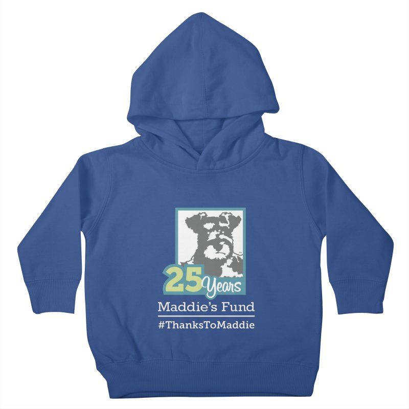 25th Anniversary Logo Dark Colors Kids Toddler Pullover Hoody by Maddie Shop