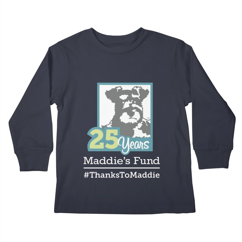 25th Anniversary Logo Dark Colors Kids Longsleeve T-Shirt by Maddie Shop