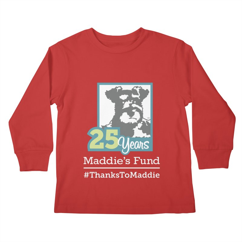 25th Anniversary Logo Dark Colors Kids Longsleeve T-Shirt by Maddie Shop