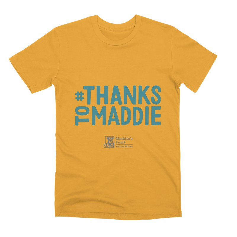 #ThanksToMaddie Light Colors Men's Premium T-Shirt by Maddie Shop