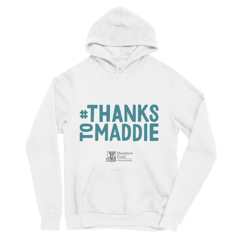 #ThanksToMaddie Light Colors Men's Sponge Fleece Pullover Hoody by Maddie Shop