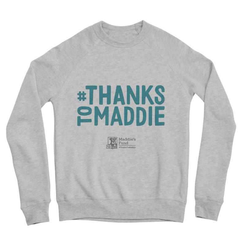 #ThanksToMaddie Light Colors Men's Sponge Fleece Sweatshirt by Maddie Shop