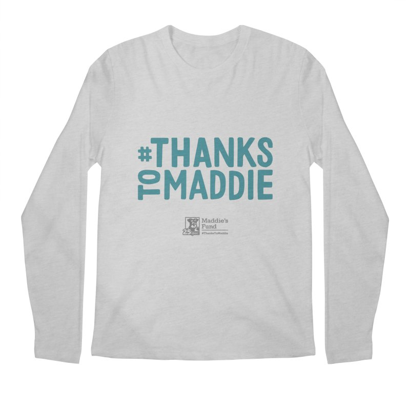 #ThanksToMaddie Light Colors Men's Regular Longsleeve T-Shirt by Maddie Shop