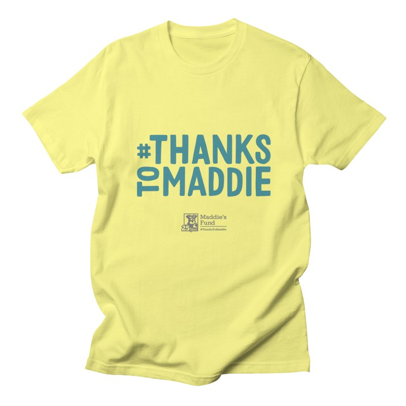 #ThanksToMaddie Light Colors Women's T-Shirt by Maddie Shop