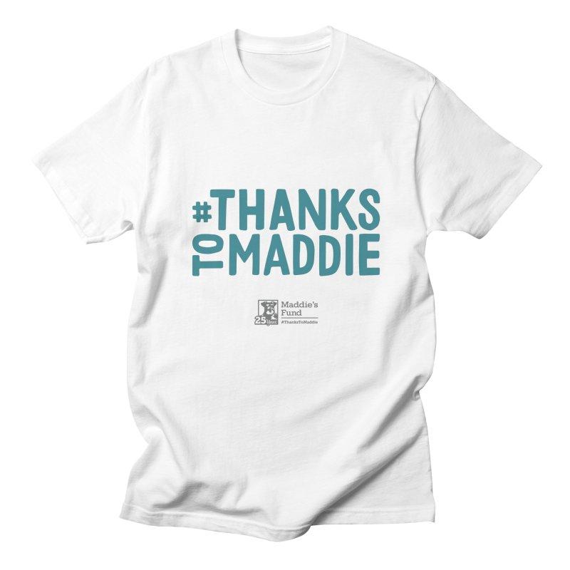 #ThanksToMaddie Light Colors Women's Regular Unisex T-Shirt by Maddie Shop