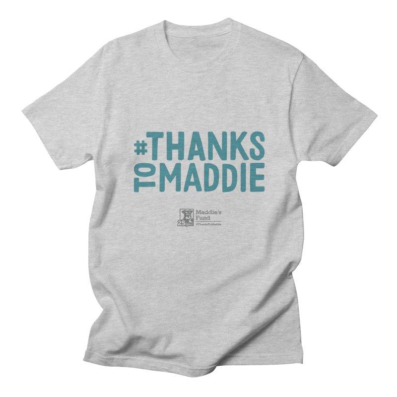#ThanksToMaddie Light Colors Men's Regular T-Shirt by Maddie Shop