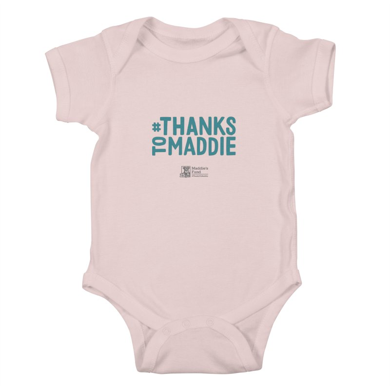 #ThanksToMaddie Light Colors Kids Baby Bodysuit by Maddie Shop