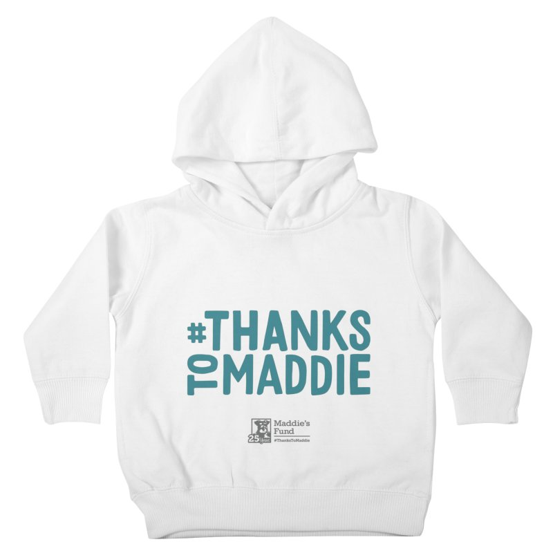 #ThanksToMaddie Light Colors Kids Toddler Pullover Hoody by Maddie Shop