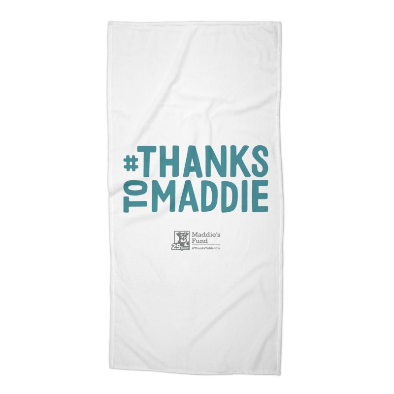 #ThanksToMaddie Light Colors Accessories Beach Towel by Maddie Shop