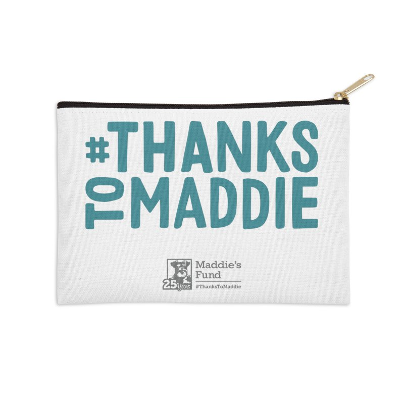 #ThanksToMaddie Light Colors Accessories Zip Pouch by Maddie Shop