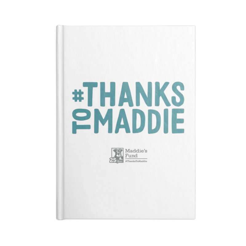 #ThanksToMaddie Light Colors Accessories Lined Journal Notebook by Maddie Shop