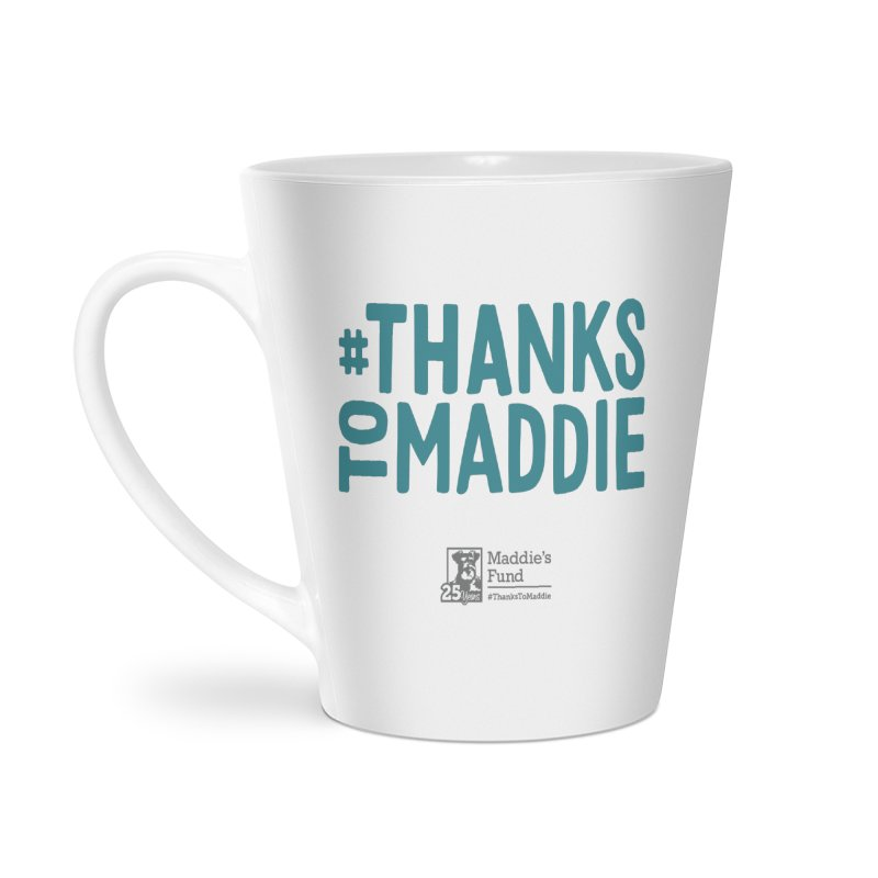 #ThanksToMaddie Light Colors Accessories Latte Mug by Maddie Shop