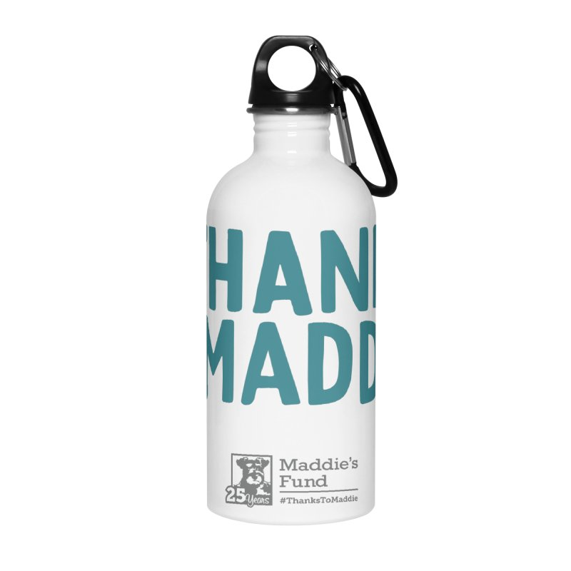 #ThanksToMaddie Light Colors Accessories Water Bottle by Maddie Shop