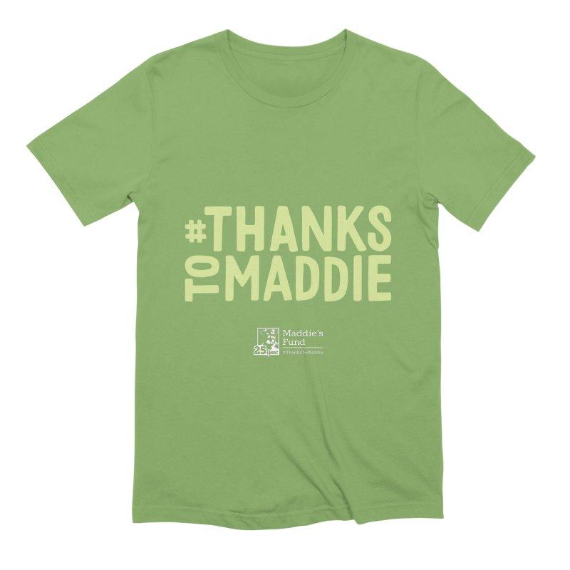 #ThanksToMaddie Dark Colors Men's Extra Soft T-Shirt by Maddie Shop