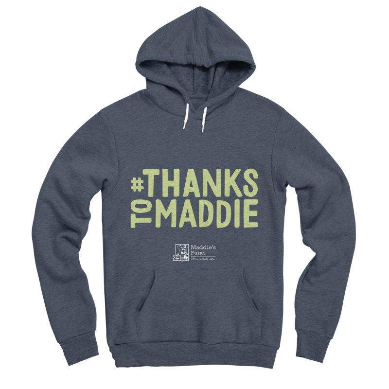 #ThanksToMaddie Dark Colors Men's Sponge Fleece Pullover Hoody by Maddie Shop