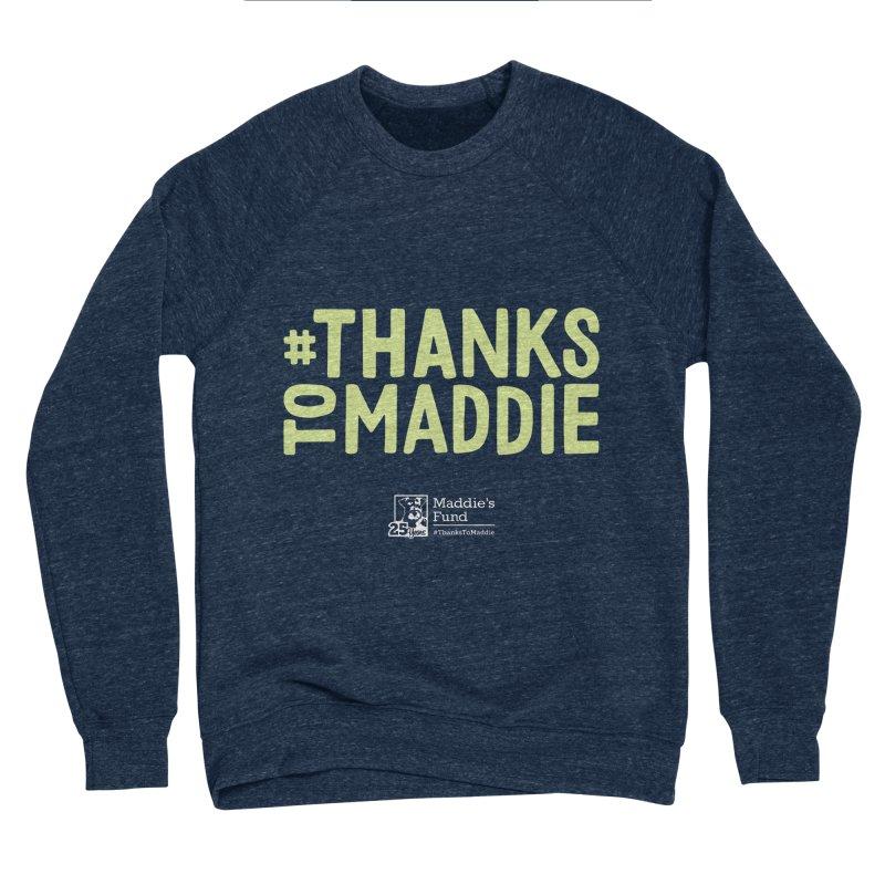 #ThanksToMaddie Dark Colors Men's Sponge Fleece Sweatshirt by Maddie Shop