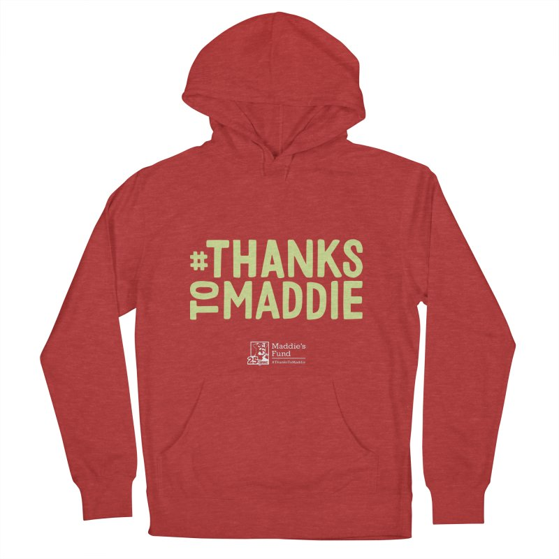 #ThanksToMaddie Dark Colors Women's French Terry Pullover Hoody by Maddie Shop