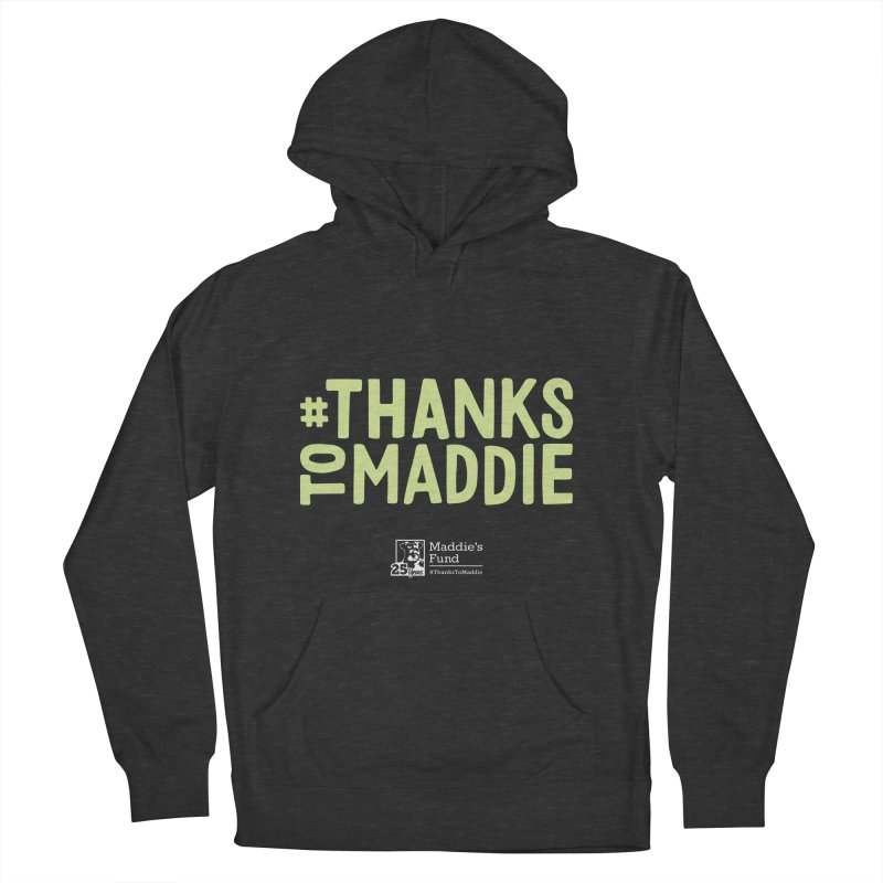 #ThanksToMaddie Dark Colors Men's French Terry Pullover Hoody by Maddie Shop