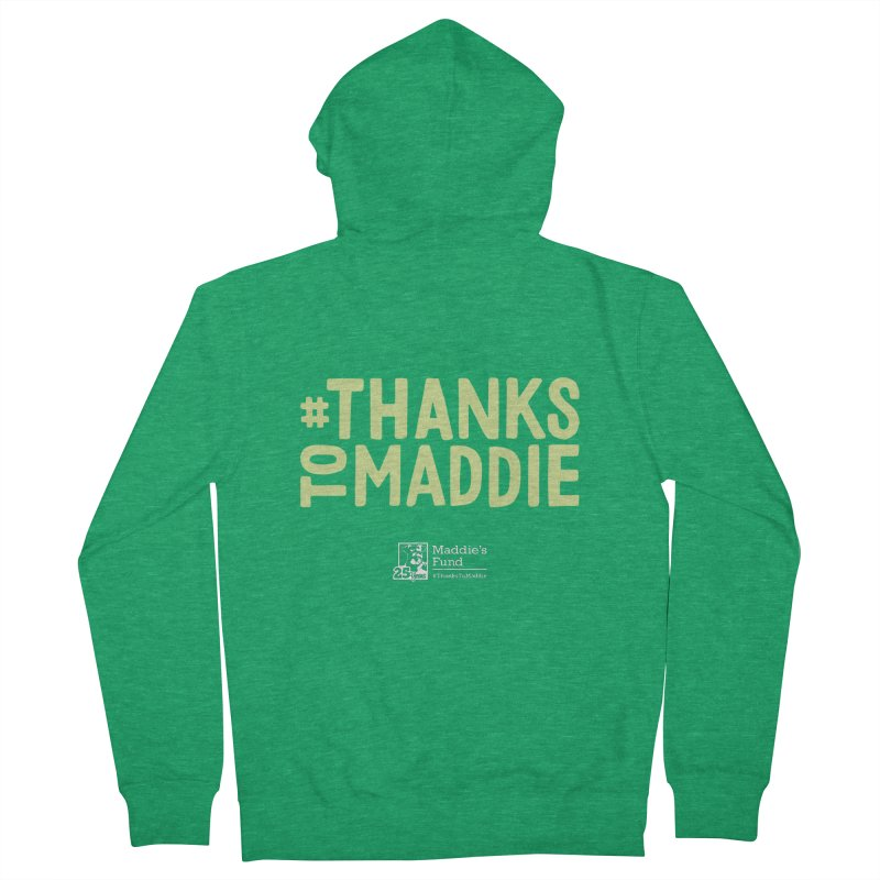 #ThanksToMaddie Dark Colors Women's French Terry Zip-Up Hoody by Maddie Shop