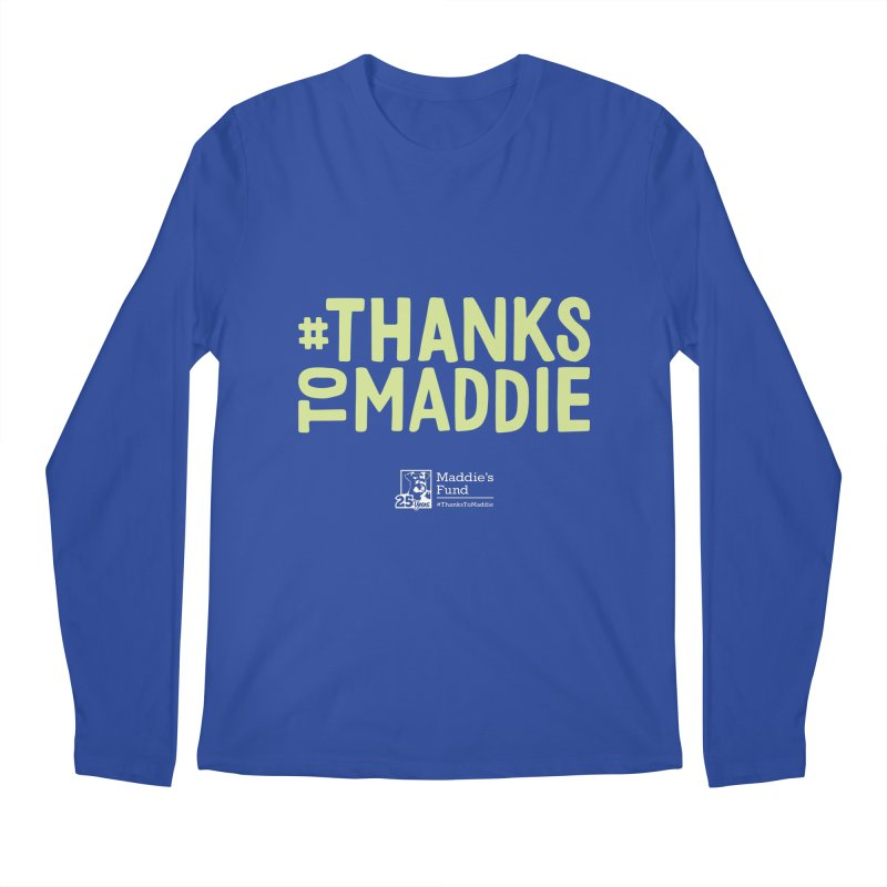 #ThanksToMaddie Dark Colors Men's Regular Longsleeve T-Shirt by Maddie Shop