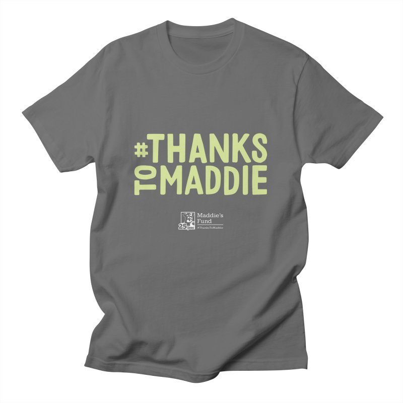 #ThanksToMaddie Dark Colors Men's T-Shirt by Maddie Shop
