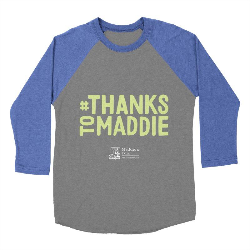 #ThanksToMaddie Dark Colors Men's Baseball Triblend Longsleeve T-Shirt by Maddie Shop