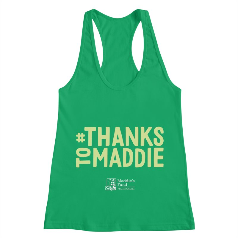 #ThanksToMaddie Dark Colors Women's Racerback Tank by Maddie Shop