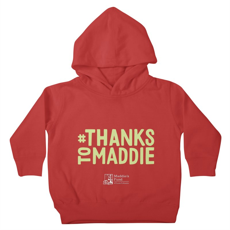 #ThanksToMaddie Dark Colors Kids Toddler Pullover Hoody by Maddie Shop