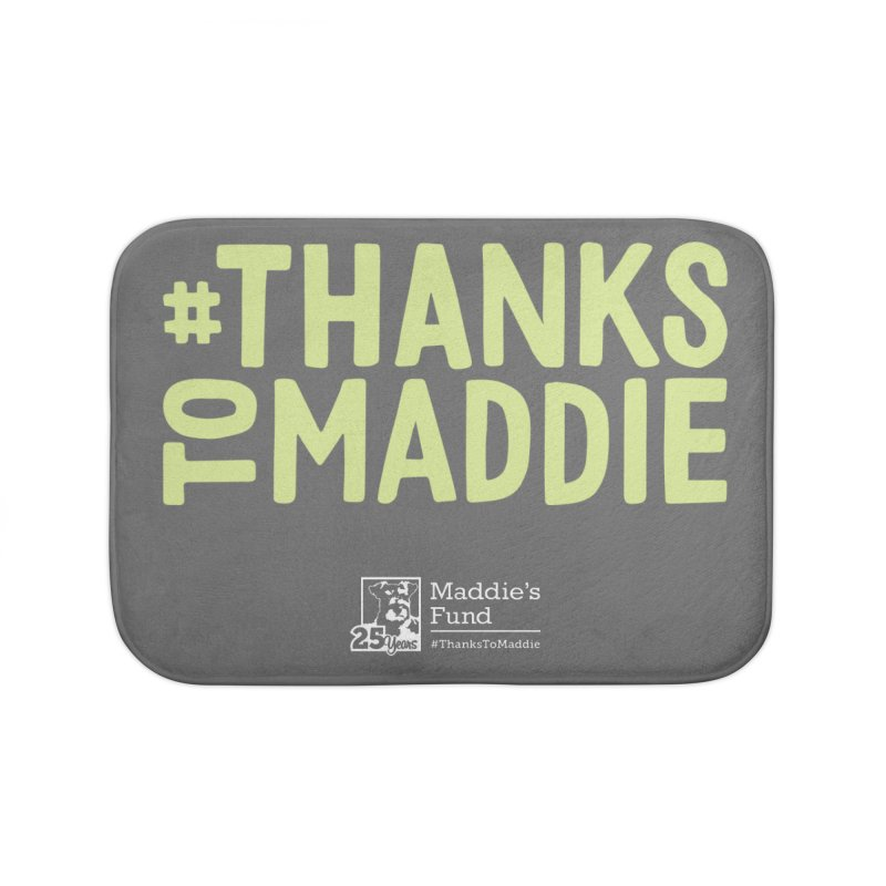 #ThanksToMaddie Dark Colors Home Bath Mat by Maddie Shop