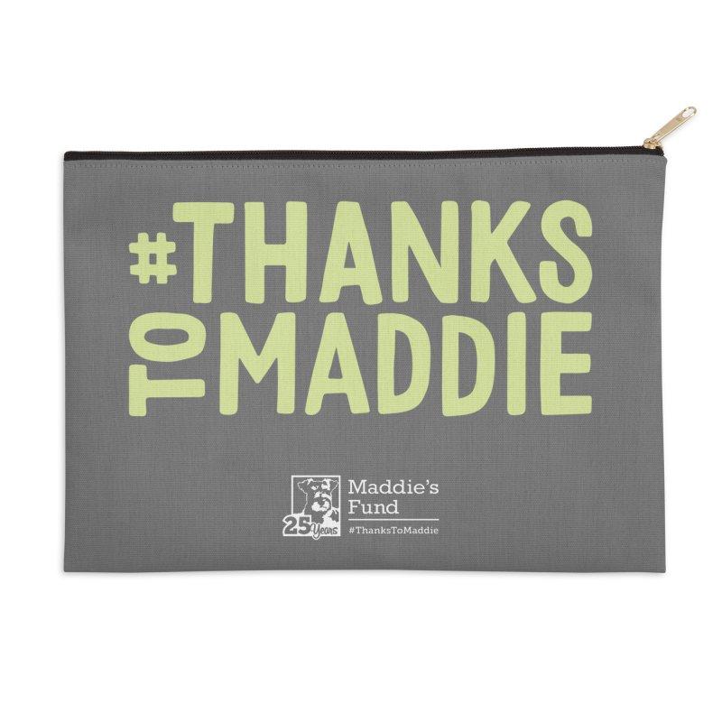 #ThanksToMaddie Dark Colors Accessories Zip Pouch by Maddie Shop