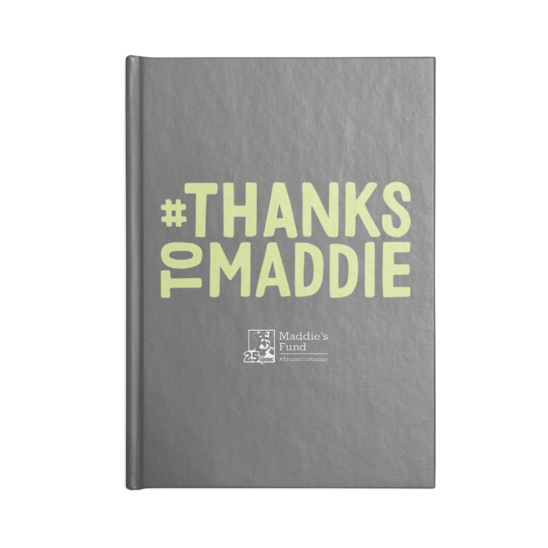 #ThanksToMaddie Dark Colors Accessories Lined Journal Notebook by Maddie Shop