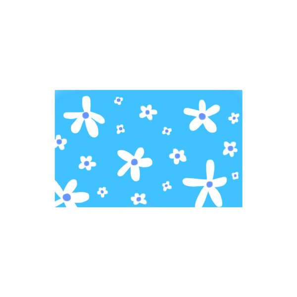 Design for Daisy in Blue - Variation 2