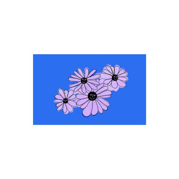 Design for Floral Bunch Blue