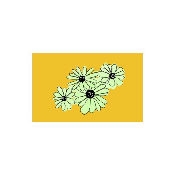 Design for Floral Bunch Yellow