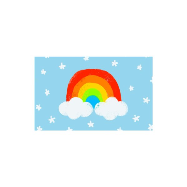 image for Rainbow on Blue