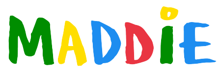 Logo for maddiewiththeglasses's Artist Shop