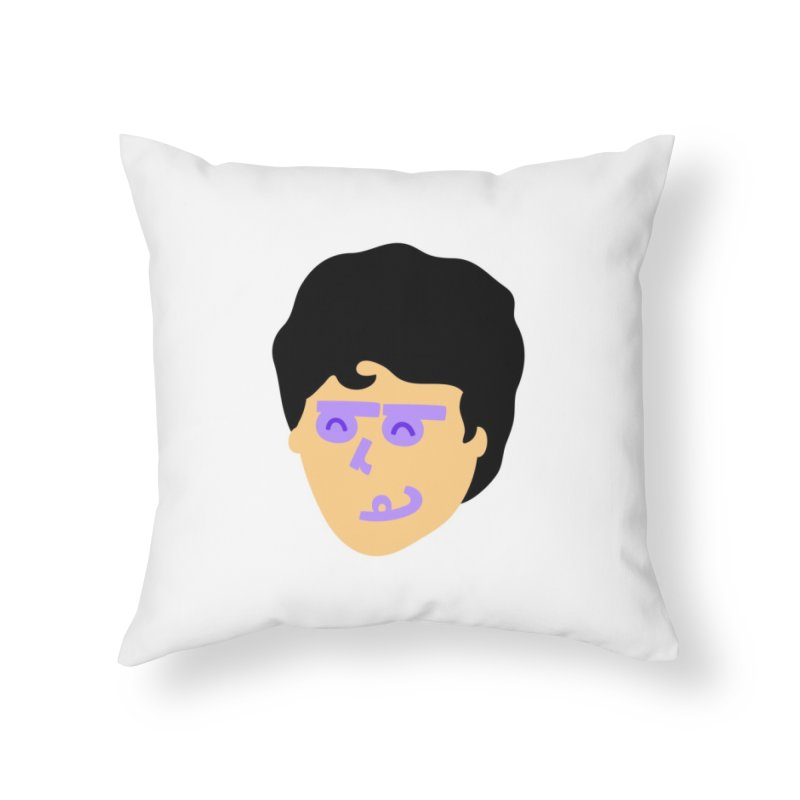 Barb Home Throw Pillow by Made by Corey