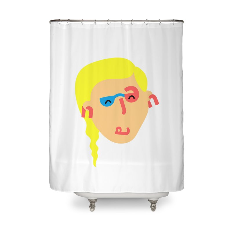 Jenna in Shower Curtain by Made by Corey