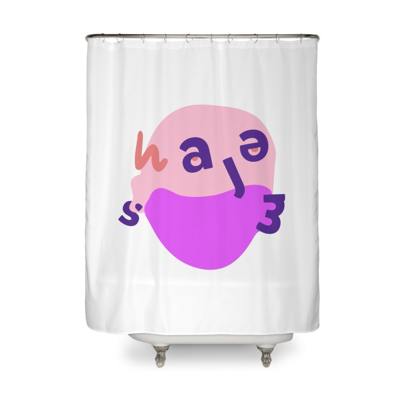 James Home Shower Curtain by Made by Corey