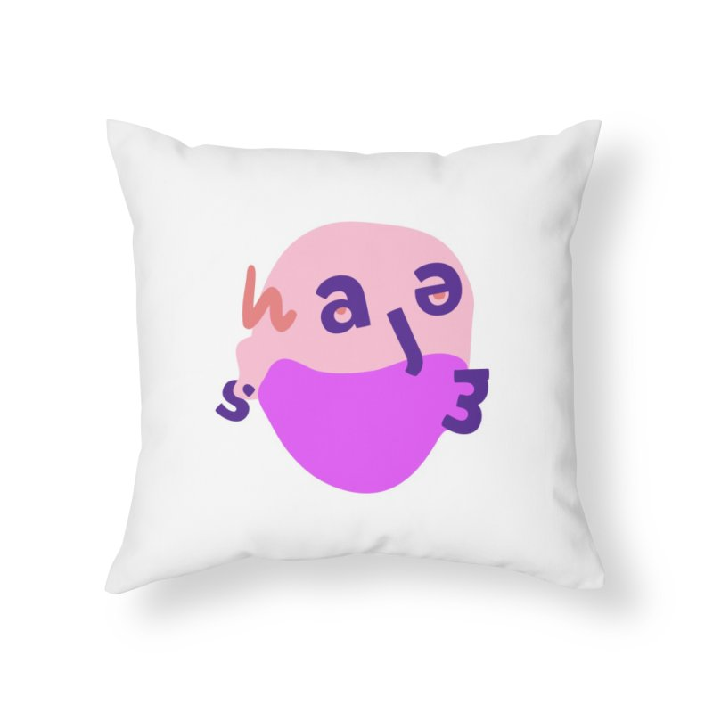 James Home Throw Pillow by Made by Corey