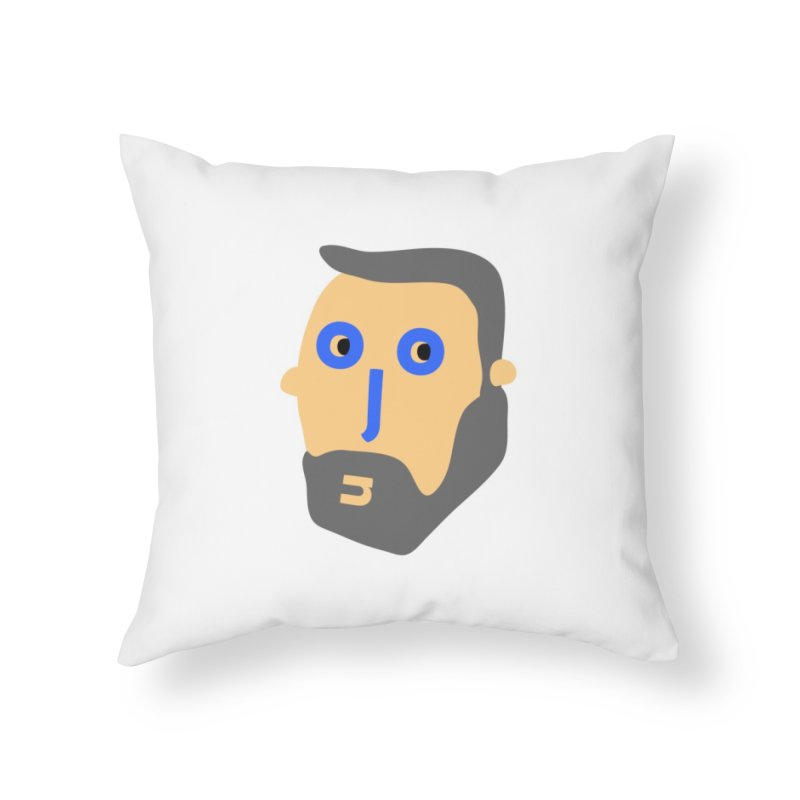 Jono Home Throw Pillow by Made by Corey