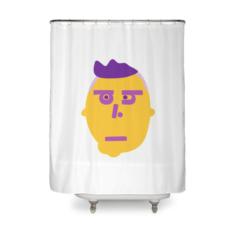 Phil Home Shower Curtain by Made by Corey