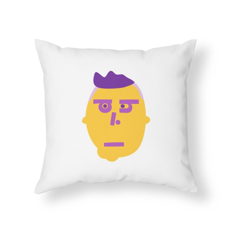Phil Home Throw Pillow by Made by Corey