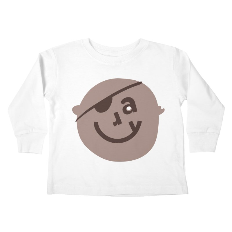 Ray Kids Toddler Longsleeve T-Shirt by Made by Corey