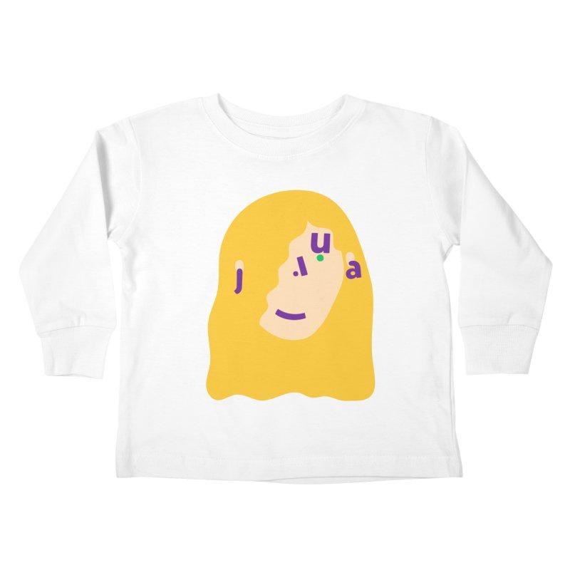 Julia Kids Toddler Longsleeve T-Shirt by Made by Corey