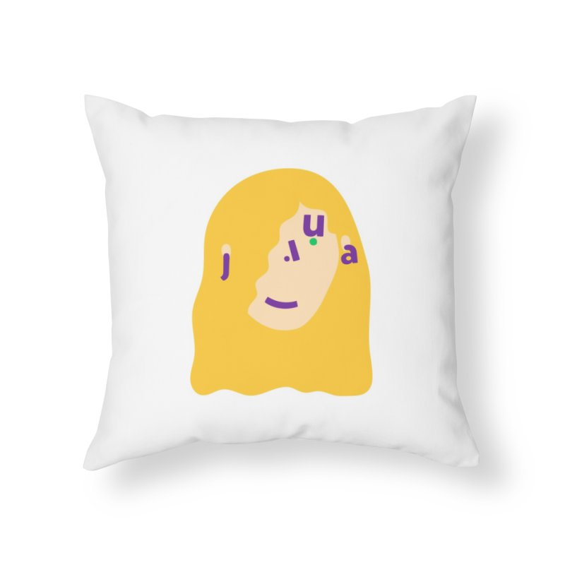 Julia Home Throw Pillow by Made by Corey